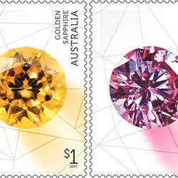 Australia Post Set to Release Eye-Catching Series of Gem Stamps