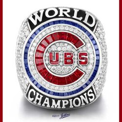 Chicago Cubs' World Series Rings Commemorate Team's First Championship in 108 Years