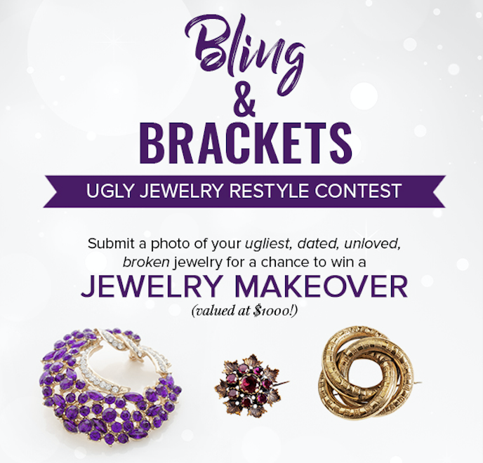Bling & Brackets: Ugly Jewelry Contest