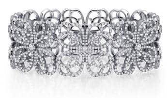 LaFonn Pave Bangle Bracelet